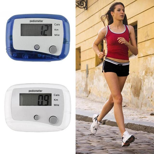 Walking and Running Distance Counter Pedometer