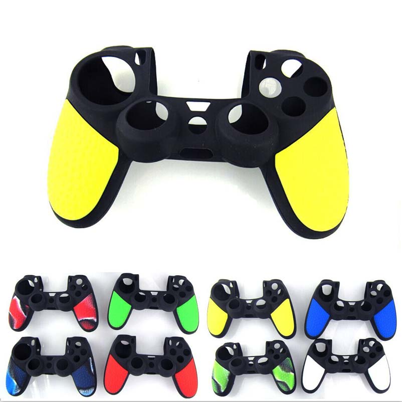 Silicone Case Soft Silicone Cover Protection Skin For Sony Playstation 4 Dualshock 4 PS4 Pro/Slim Controller