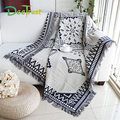 Classic Double Sides Tassel Plaid Thickening Cotton Blanket For Beds Sofa Throws On Plane Cover Home Decorative Cobertor