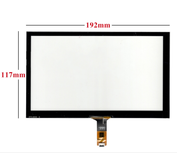 192*117 8-inch Universal Capacitor Touch Screen IC:GT911 6PIN Free Delivery