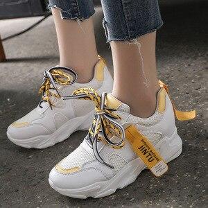 Image 4 - SWYIVY Mesh Ladies Sneakers Fashion Platform Sneakers Women 2020 Summer Shoes Woman Casual Shoes Women Casual Sneaker Breathable