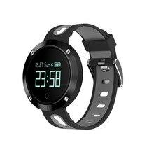 DM58 smart Сердечного ритма крови Давление часы IP68 Водонепроницаемый Спортивный Браслет Смарт фитнес-трекер для IOS Android