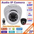 CCTV Mini HD 720 P 1080 P Cámara IP de Entrada de Audio Con Micrófono Recogida Externa P2P ONVIF Domo para Interiores de cámaras de Seguridad Cámara de vigilancia