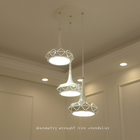 Скандинавский светодиодный ресторанные осветительные приборы бар подвесные светильники американское сельское освещение лампы для столов