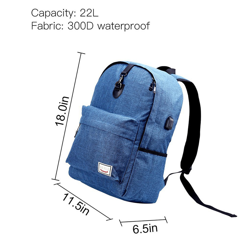 b05b06e28b7b Travel Backpack Men Backpack Anti Theft Slim Durable Laptop Backpack with  USB Charging Port College School Computer Bag-in Backpacks from Luggage    Bags on ...