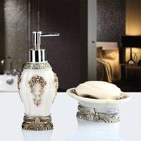 High End Bathroom Suite Salle De Bain Two Piece European Hand Sanitizer Osculum Soap Box Toiletries