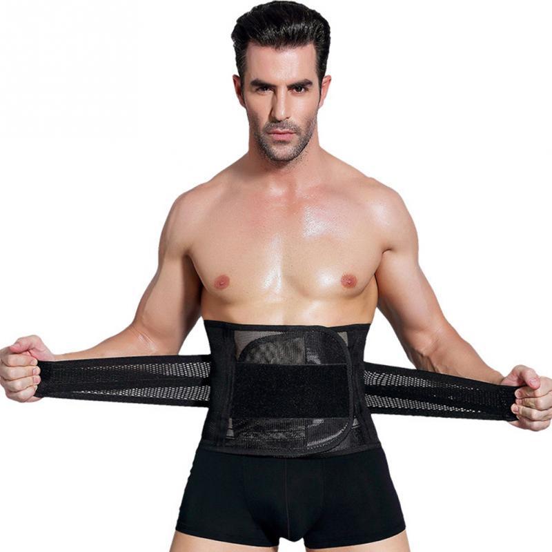 Men Health Vest Body Slimming Tummy Shapewear Men Sheath Belly Band Corset Waist Trainer Cincher Slim Body Shaper Abdomen Belt