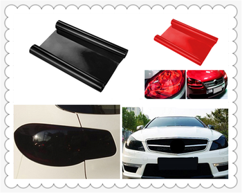 Car personality modification headlight taillight fog light color film for BMW E34 F10 F20 E92 E38 E91 E53 E70 X5 M M3 image