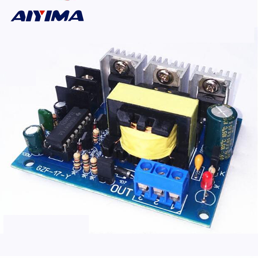 Aiyima 1pc Inverter New Dc To Ac 12v 220v Micro Invertor With Circuit Diagram Of Power On 100w Booster Board In Inverters Converters From Home Improvement