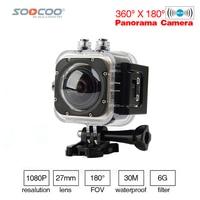 SOOCOO C UBE360S WiFi 1.5inch 30M Waterproof Mini Sports Action Camera 360 Wide Angle Cameras Wide Angle 360*180 HD Video Camera