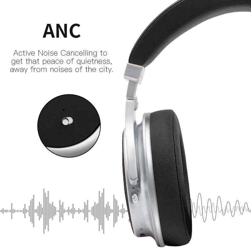 965127e434f Bluedio F2 Active Noise Cancelling Wireless Bluetooth Headphones wireless  Headset with microphone for phones-in Bluetooth Earphones & Headphones from  ...