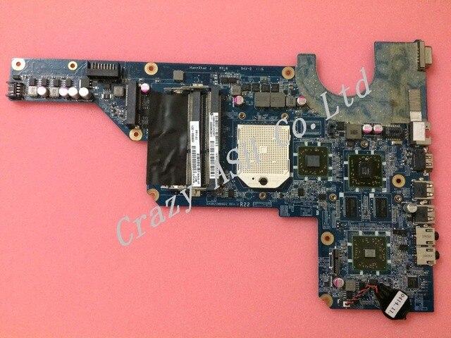 Para 638854-001 638855-001 da0r22mb6d0 rev d para hp pavilion g4 g6 g7 mainboard motherboard