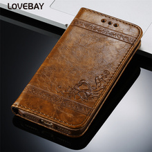 Leather Flip Phone Case Cover For iPhone and Samsung devices