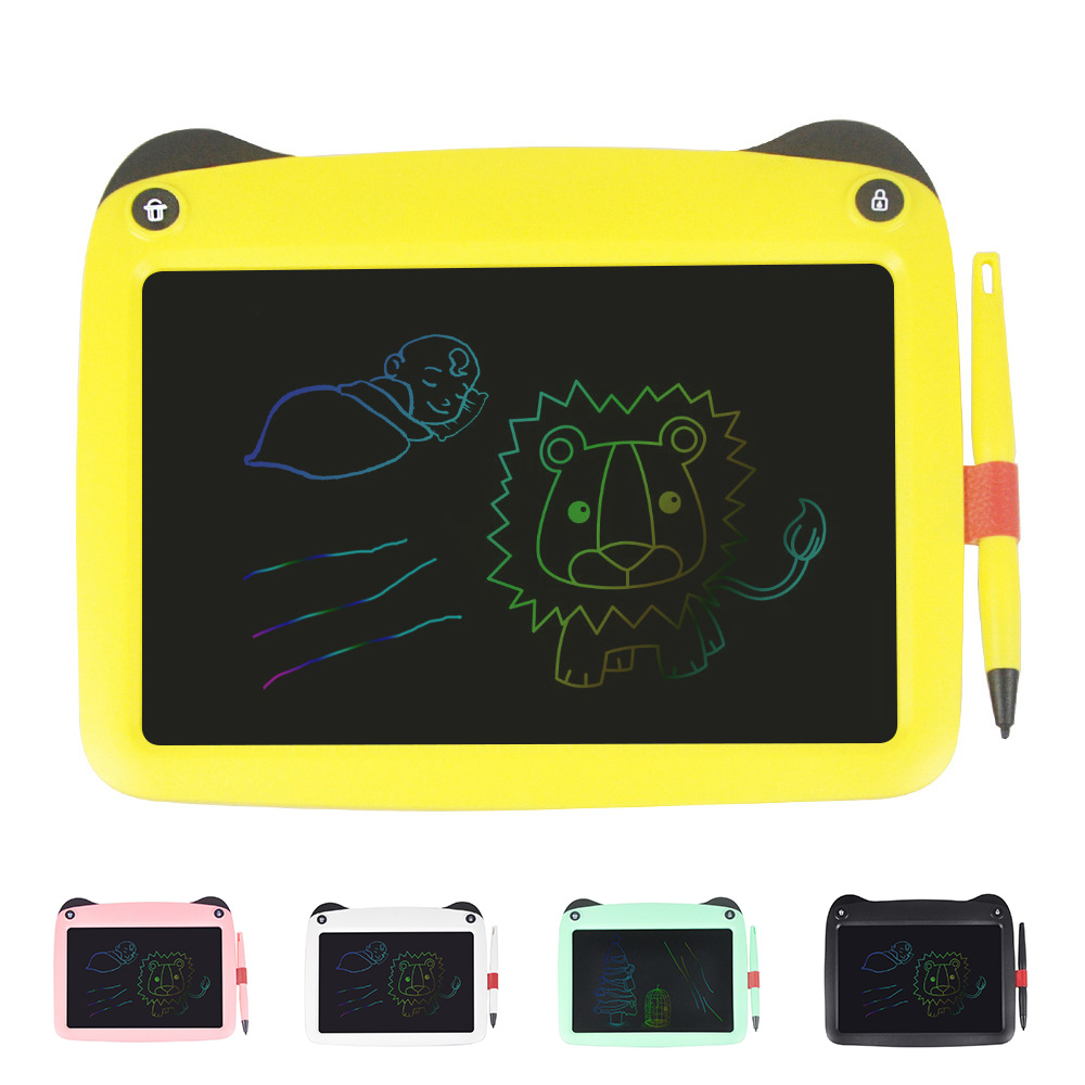 Color Drawing Tablet 9 Inch LCD Writing Tablet Digital Grafic Handwriting Pads Portable Electronic Graphics Board Gift Kids