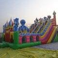 Двор надувные Biggors коммерческой водные горки для взрослых и детей