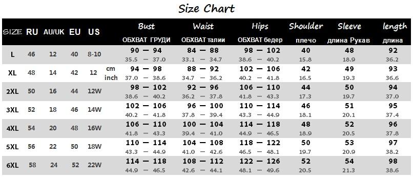2019 Plus Size ქალის კაბა 5XL 6XL - ქალის ტანსაცმელი - ფოტო 6