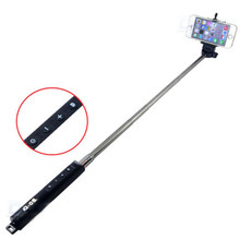 LC1507 Bluetooth wysuwany ręczny Selfie Stick Monopod z do Samsung iPhone(China)