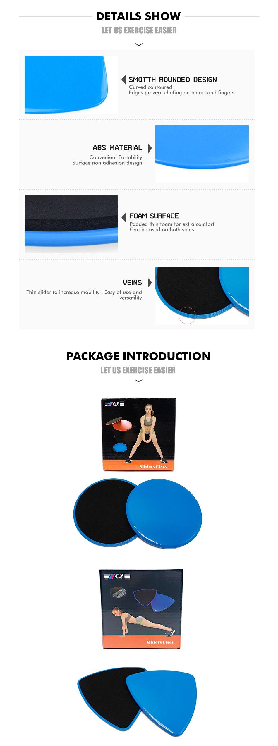 1 Pair Meluncur Disc Inti Geser Slider Pelatihan Crossfit Yoga Mercedes Benz Cls 400 Tahun 2015 Karpet Mobil Comfort Deluxe 12mm Car Mat Full Set 01 02