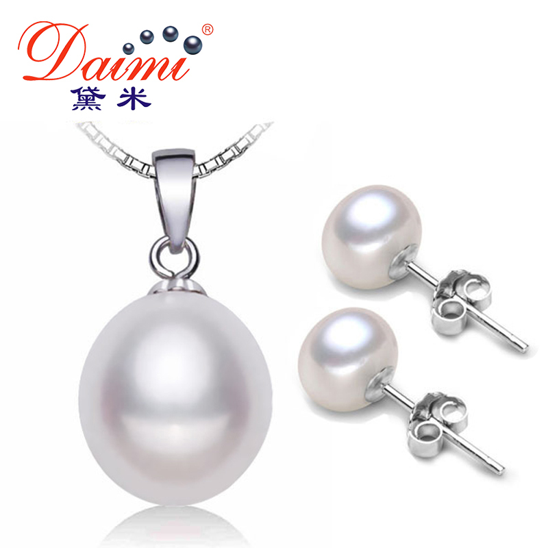 Aliexpress.com : Buy DAIMI Pearl Jewelry Sets 925 Silver ...