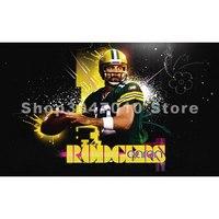 Green Bay Packers Player Flag 90x150cm Polyester Digital Print Banner 3x5ft Large Banner Flag