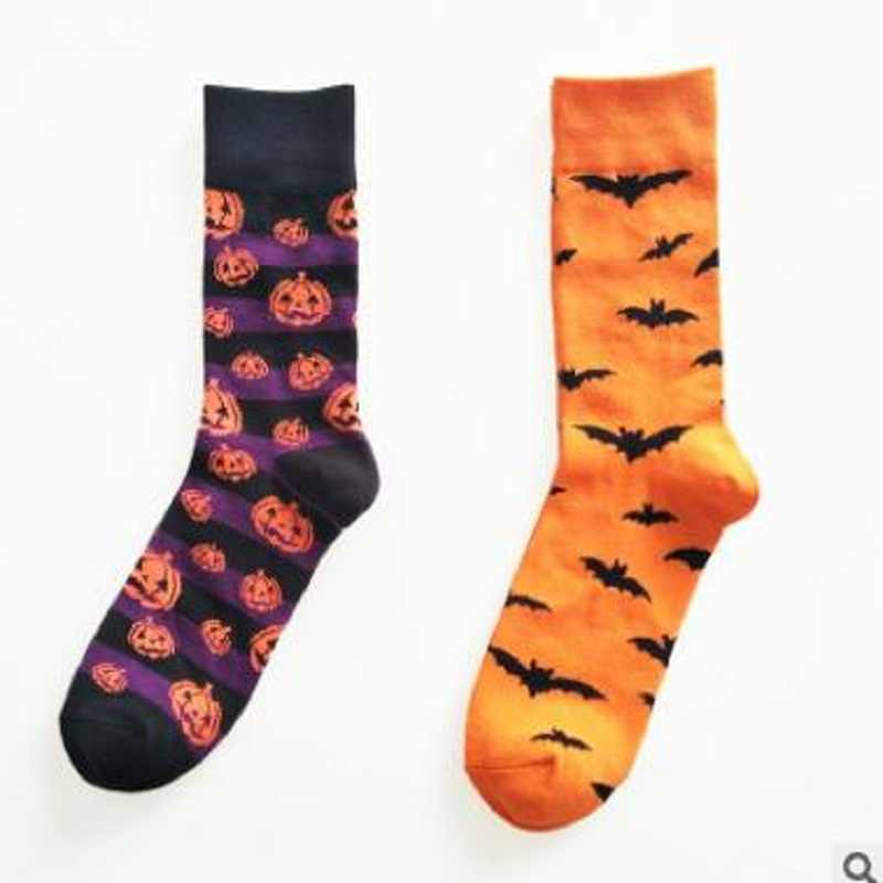 2018 the new men's Halloween cartoon character of cotton socks