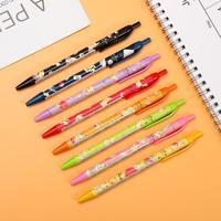 8pcs/set kamio japan Pikachu gel pen Cute Cartoon Kawaii Modeling 0.38mm Press Gel Pen for student writing school supplies