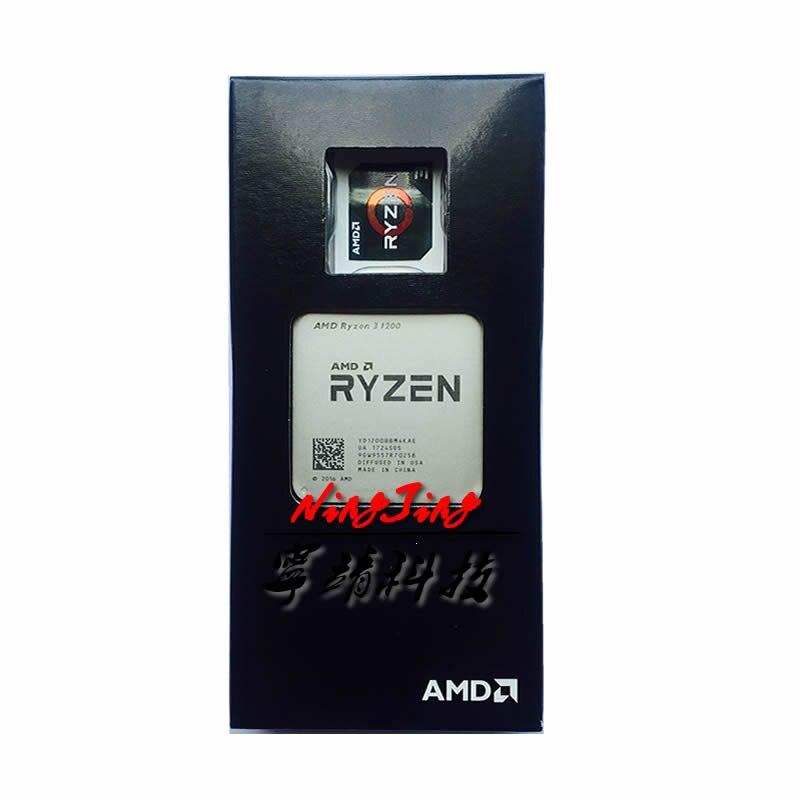 AMD Ryzen 3 1200 R3 1200 3 1 GHz Quad Core CPU Processor YD1200BBM4KAE Socket AM4