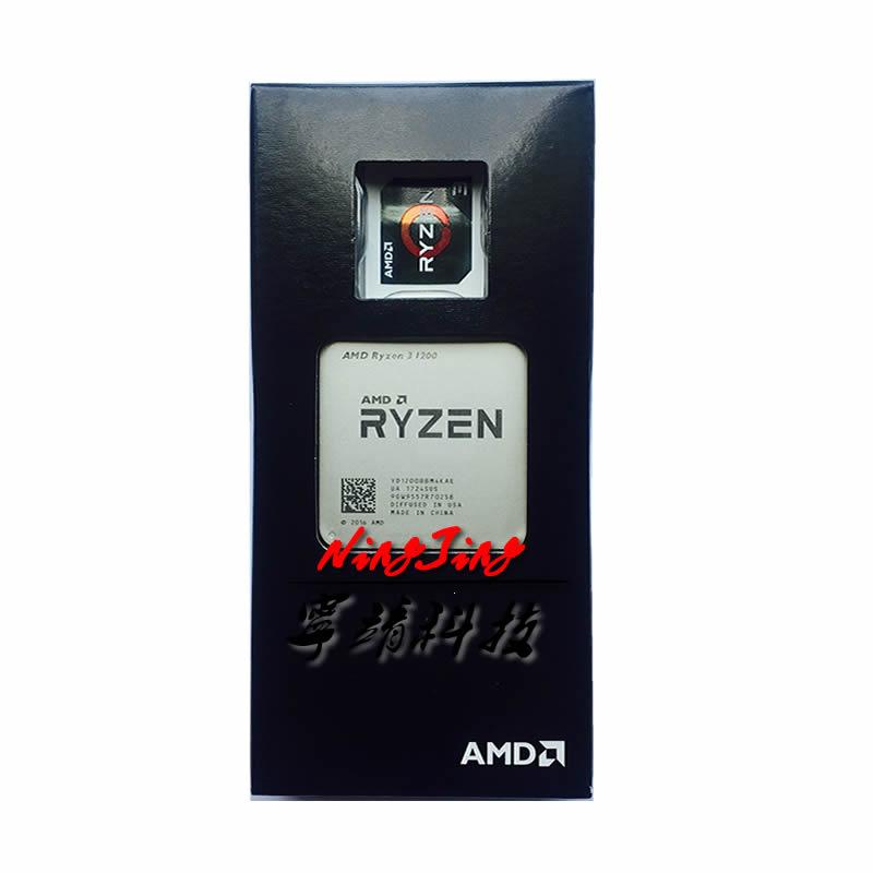 AMD Ryzen 3 1200 R3 1200 3.1 GHz Quad-Core CPU Processor YD1200BBM4KAE Socket AM4