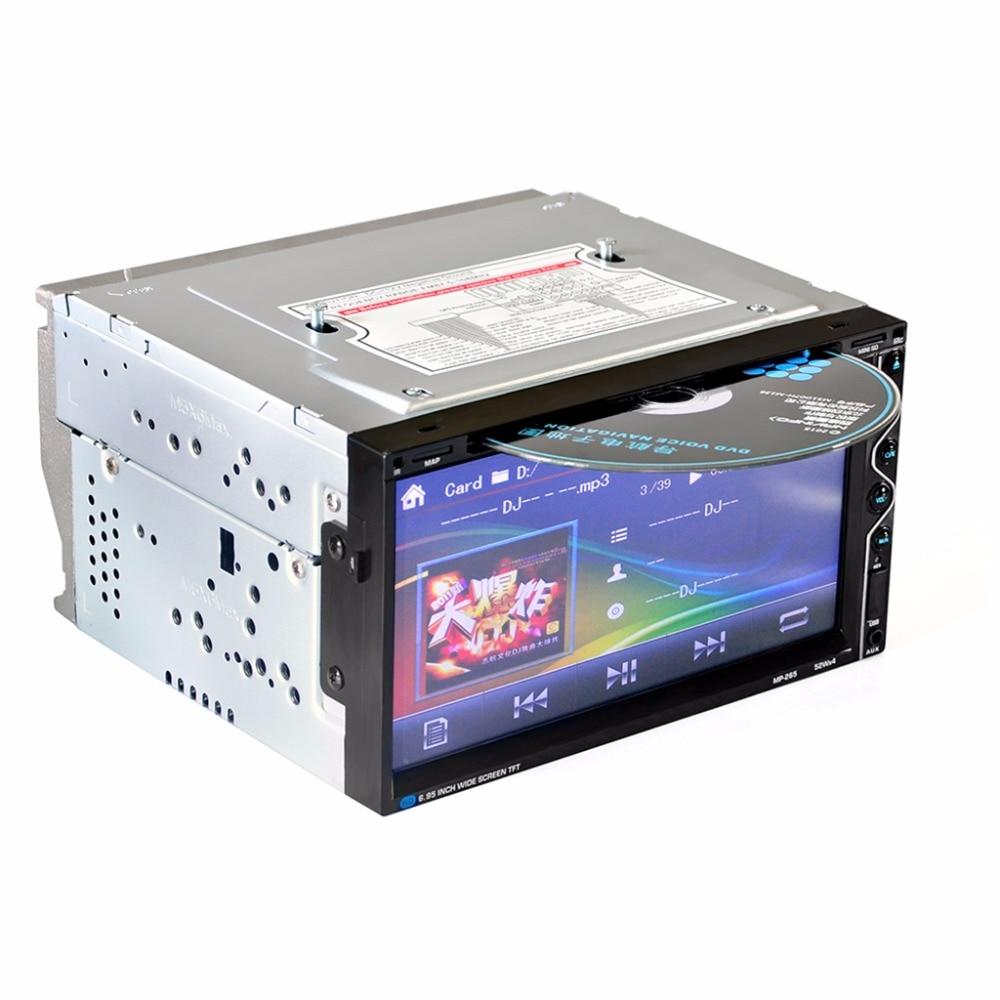 Image 2 - HEVXM 265 6.95 inch Car radio Car multifunction DVD Player Bluetooth Car DVD Player 2 Din Car DVD Player Reversing Priority-in Car Radios from Automobiles & Motorcycles