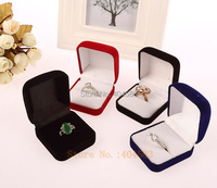 10pcs Tabletop Show Earring Display Organizer stand Velvet Engagement Wedding Ring Jewelry Box