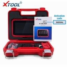 Последним XTOOL X100 PAD X 100 Авто Ключевые программист с маслом Отдых инструмент и настройка счетчика пробега X-100 PAD 100% первоначально