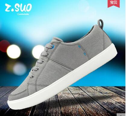 ZSUO ZS156 zapatos de lona transpirables de verano. Zapatos de elevador informales populares para hombre, zapatos de algodón de moda-in Zapatos informales de hombre from zapatos    3