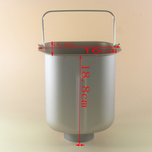 Bread barrel for BM-1349 DL-T05 BM-1350 DL-T09 BM1349-A DL-T10 BM1350-A DL-T11 DL-T20C  maker spare parts buckets