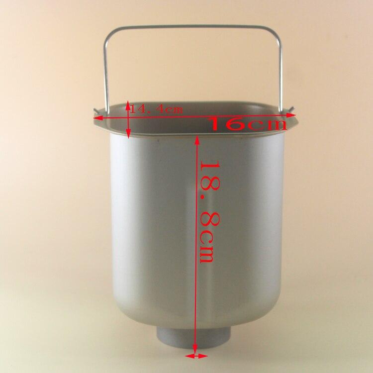 Brot barrel für BM-1349 DL-T05 BM-1350 DL-T09 BM1349-A DL-T10 BM1350-A DL-T11 DL-T20C brotbackautomat ersatzteile für eimer