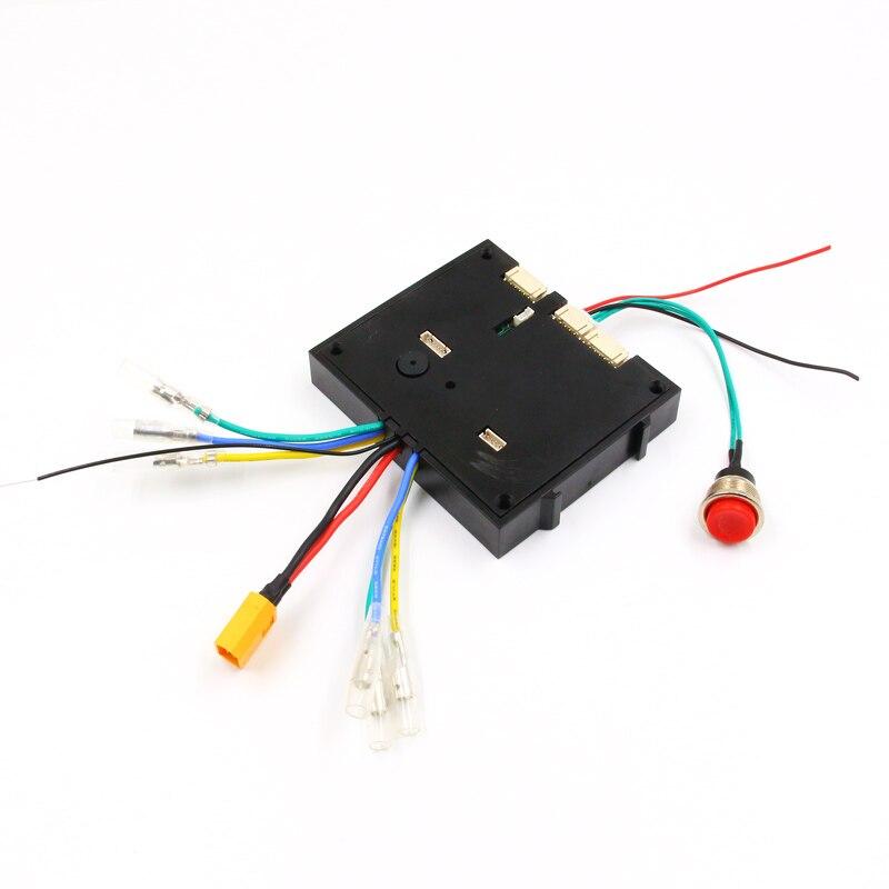 FATJAY nouvelle version 2.4G transmetteur avec LED en boîte indicateur de batterie simple double moteur lecteur contrôleur pour planche à roulettes électrique