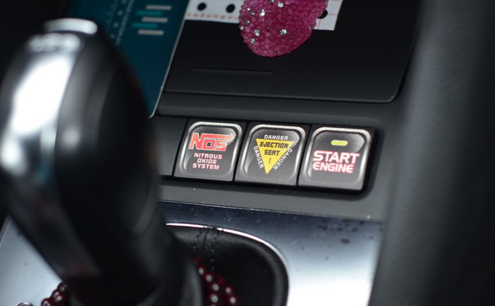 6 x Funny Car Decoration Waterproof car internal Sticker And Decals For Volkswagen Skoda Polo Golf 4 5 6 7 Passat B6 B8 Jetta