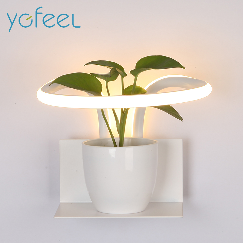 [YGFEEL] 13W LED Wall Lamps Modern Bedroom Wall Light Indoor Living Room Foyer Corridor Stair Decoration Lighting Creative Lamp [ygfeel] 21w led wall light creative bedroom wall lamp indoor living room foyer decoration corridor stair lighting ac90 260v