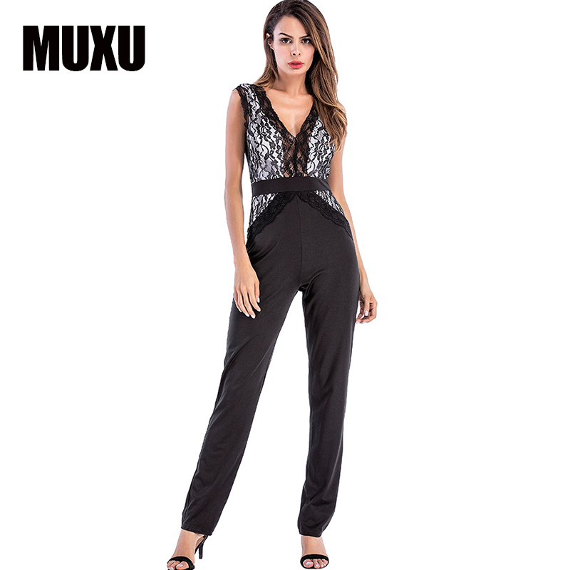 body rompers womens v neck jumpsuit body suit jumpsuits for women 2017 bodies woman sexy lace jumpsuit for women bodysuit lace