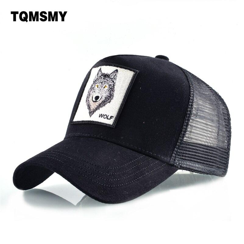 8 tipos de bordado animal gorras de béisbol de los hombres de malla transpirable Snapback gorras Unisex sombrero para el sol para las mujeres hueso gorra Hip hop