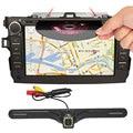 AutoRadio 8 de Polegada de Dvd Do Carro para Toyota Corolla 2007 2008 2009 2010 2011 Navegação GPS Bluetooth Radio FREE Mapa + câmera