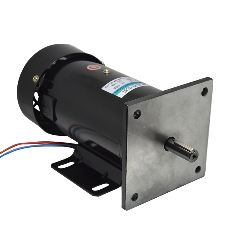 220V DC permanent magnet motor 1800 rpm high speed motor adjustable speed can be forward and reverse motor with flange 220v permanent magnet dc motor 1800 4500 rpm high speed motor 500w high power large torque motor
