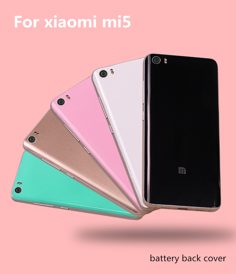 font b Xiaomi b font Mi5 font b Case b font Original Back Cover For