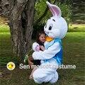 Ошибки одежда кролик Талисман кролик профессиональный Пасха Талисмана взрослый мужчина кролики a fairy tale