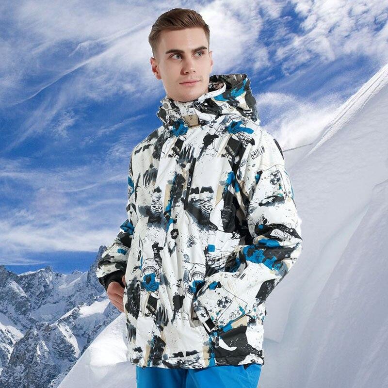 2019 hiver marques veste de Ski hommes en plein air chaud épaissi imperméable neige Snowboard vestes mâle Ski et Snowboard vêtements