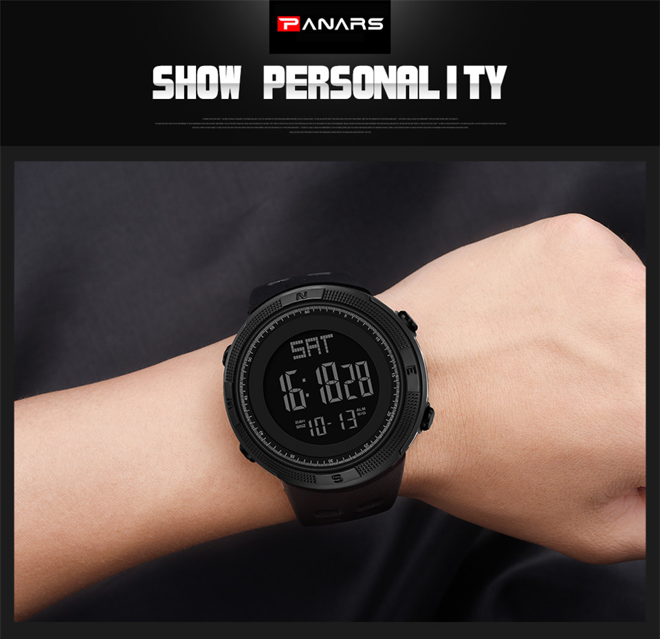 Sports Electronic Watches Men Countdown Double Time Watch Alarm Chrono Digital Wristwatches 50M Waterproof Outdoor Running Watch (18)
