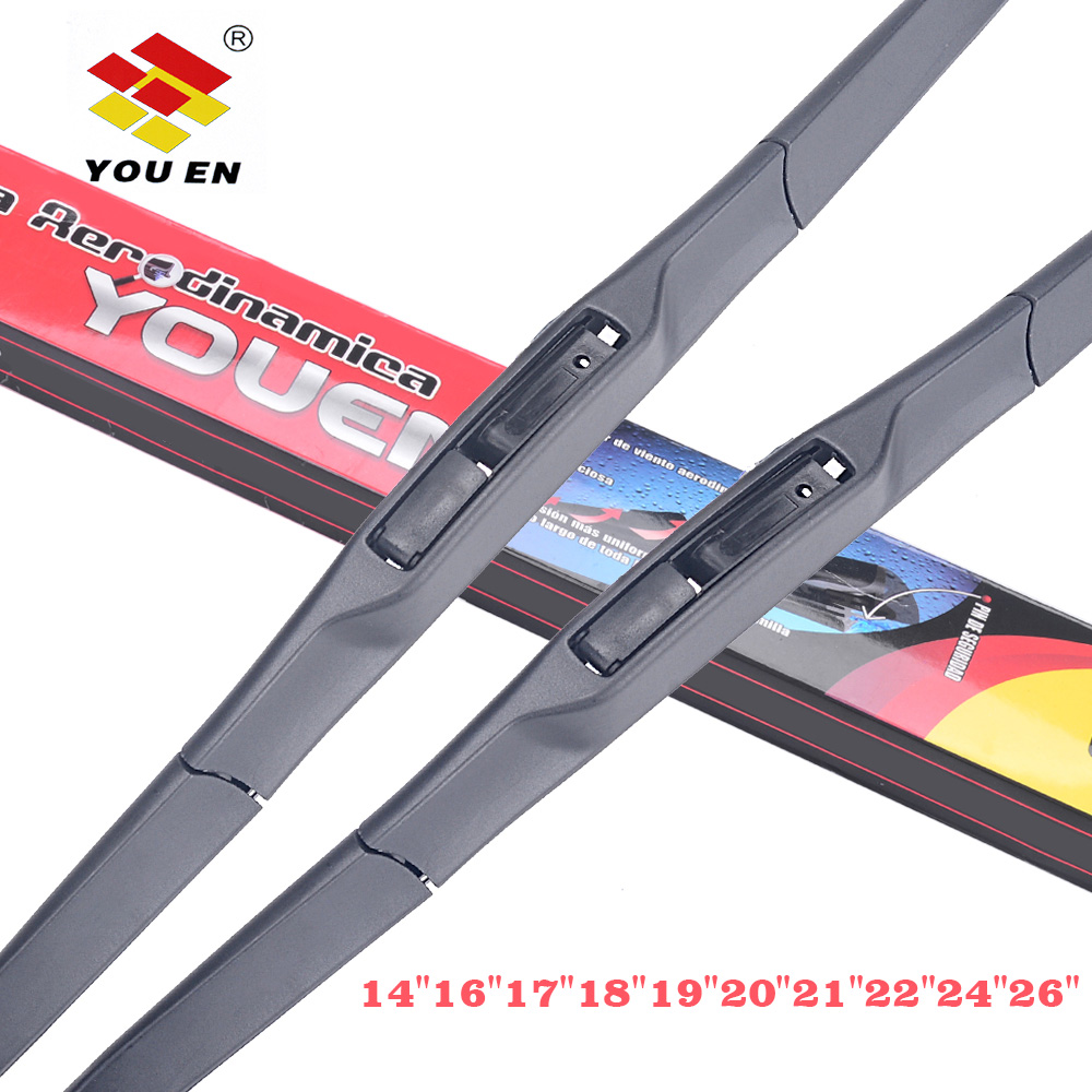 YOUEN Universal U-Type Car Wiper Blade 14