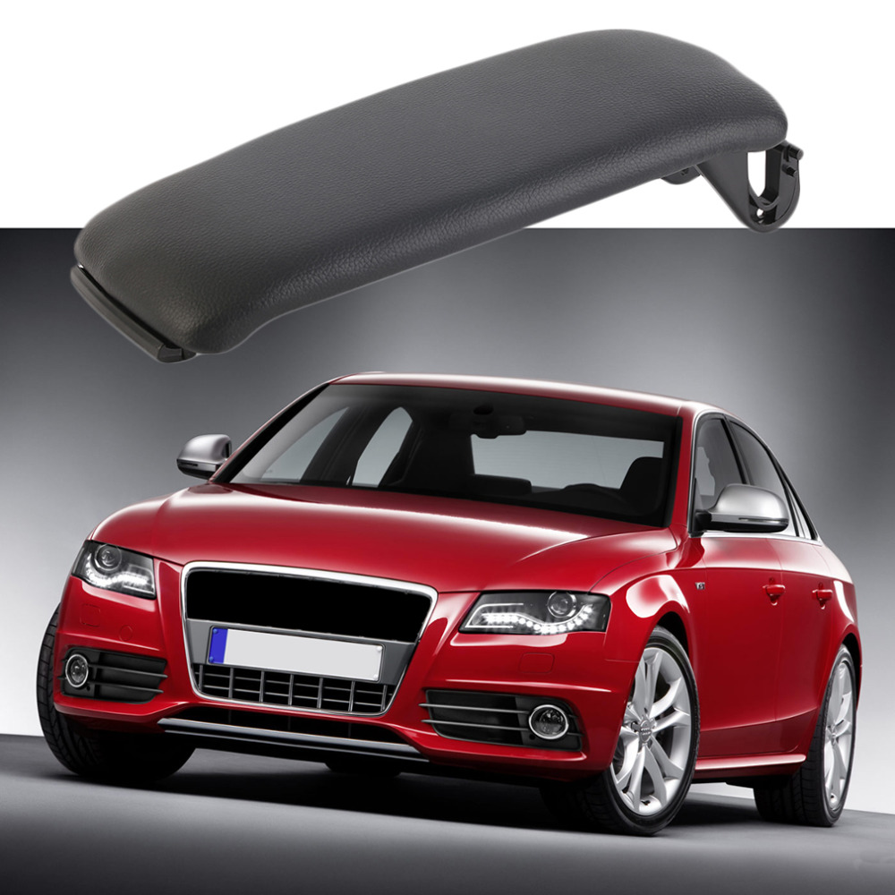 New ARMREST CENTER CONSOLE COVER LID STORAGE BOX FOR AUDI 2000 2001 2002 2003 2004 2005 2006 A4 ...