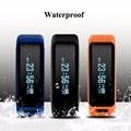 NO. 1 Smartband F1 à prova d' água Material de Silicone Pulseiras Esportes Pulseira Inteligente Com Chamadas de Telefone Móvel Heart Rate Monitor
