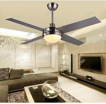 48inch 52inch chandelier fan lights simple LED modern minimalist living room bedroom fan chandelier lights リビング シャンデリア
