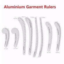 Reglas de mosaico de Metal para diseño de moda, reglas de ropa para regla de corte de retazos, # 6132A # 6248A # 6112A # 6218A # 6324A